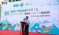 Vietnam begrüßt den Tag der Erde 2016