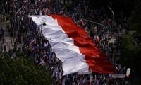 Die größte Demonstration in Polen seit 1989