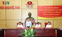 Vize-Premierminister Vuong Dinh Hue besucht Provinz Nghe An
