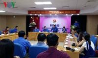 Treffen der herausragenden Jugendlichen beim Lernen nach dem Vorbild des Präsidenten Ho Chi Minh