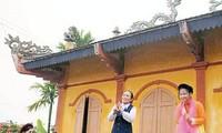 Cheo-Klub im Dorf Khuoc