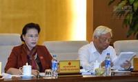 Abschluss der 10. Sitzung des Ständigen Parlamentsausschusses