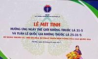 Vietnam hält ernsthaft das Gesetz zur Verhinderung schädlicher Auswirkungen von Tabak ein