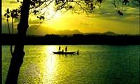 Schönheit des Berges An und des Flusses Tra der Provinz Quang Ngai