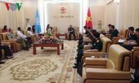 Generaloberst Nguyen Chi Vinh empfängt UN-Einschätzungs- und Beratungsdelegation