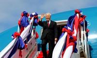 KPV-Generalsekretär Nguyen Phu Trong beginnt sein Besuch in Kambodscha