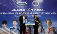 """Das Programm """"Milch für Schule"""" für Kinder in Quang Nam"""