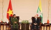 Aktivitäten des KPV-Generalsekretärs in Myanmar