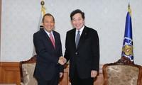 Verstärkung der umfassenden Zusammenarbeit zwischen Vietnam und Südkorea
