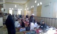 Weltgemeinschaft verurteilt Anschlag auf Moschee in Ägypten