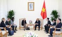 Premierminister empfängt dänische Botschafterin