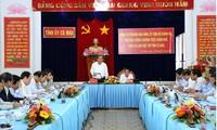 Vize-Premierminister Truong Hoa Binh leitet Arbeitstreffen mit Leitern der Provinz Ca Mau