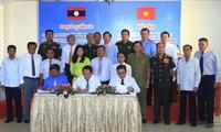 Effektive Zusammenarbeit zwischen laotischen und vietnamesischen Provinzen