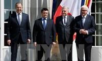 Normandie-Quartett fördert Frieden in der Ost-Ukraine