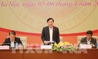 11. Sitzung des Rechtsausschusses des Parlaments eröffnet