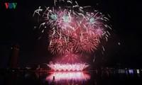 Eröffnung des internationalen Feuerwerk-Festivals Da Nang