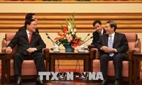 Präsident des Obersten Gerichtshofs Nguyen Hoa Binh besucht China