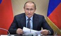 Russlands Präsident Wladimir Putin wird einen Online-Dialog mit seinen Bürgern am 7. Juni haben