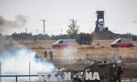 Viele Toten und Verletzten bei Auseinandersetzungen im Gazastreifen