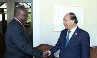 Verstärkung der vielseitigen Zusammenarbeit zwischen Vietnam und Südafrika
