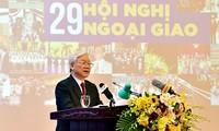 Weiterhin eine umfassende und kreative Diplomatiebranche umsetzen
