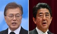Leiter Japans und Südkoreas verhandeln über die Lage auf Koreanischer Halbinsel