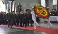 Kondolenzbesuch beim Staatspräsidenten Tran Dai Quang
