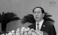 Leiter der Länder, Parteien und Verbände der im Ausland lebenden Vietnamesen trauern um Staatspräsident Tran Dai Quang