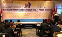 Erfahrungen über offene Bildung in der Entwicklung von Arbeitskräften in Asien
