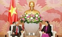Vize-Parlamentspräsidentin Tong Thi Phong empfängt Leiter der UN-Organe in Vietnam