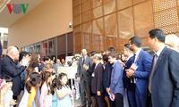 Frankreichs Premierminister nimmt an der Einweihung der französischen Schule Alexandre Yersin teil