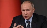 Russland gibt den Termin der jährliche Pressekonferenz des Präsidenten Putin bekannt