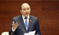 Premierminister Nguyen Xuan Phuc führt Arbeitstreffen mit Leitern der Provinz Cao Bang