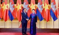 Kambodschas Premierminister Hun Sen beendet sein Vietnam-Besuch