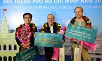 Ho Chi Minh Stadt empfängt den siebenmillionensten ausländischen Tourist im Jahr 2018