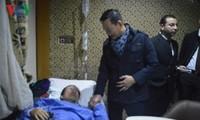 Die vietnamesischen Opfer des Bombenanschlags in Ägypten unterstützen