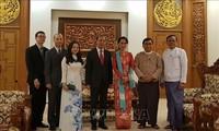 Vize-Außenminister Nguyen Quoc Dung besucht Myanmar