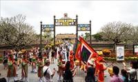 Hue empfängt mehr als 50.000 ausländische Touristen zum Tet-Fest