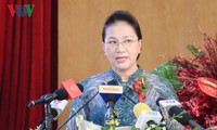 Parlamentspräsidentin Nguyen Thi Kim Ngan nimmt an der Feier zum 30. Jahrestag der Firma Tan Cang Sai Gon teil