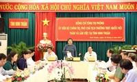 Vize-Parlamentspräsidentin Tong Thi Phong besucht Provinz Ninh Thuan