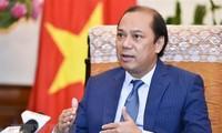 Vize-Außenminister Nguyen Quoc Dung spricht über das Ergebnis des ASEAN-Gipfels
