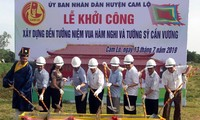 Bau des Tempels zur Verehrung des Königs Ham Nghi