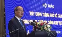 Entwicklung von Ho-Chi-Minh-Stadt zu einem Finanzzentrum in der Region