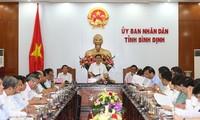 Vize-Premierminister Vuong Dinh Hue tagt mit Leitern der Provinz Binh Dinh