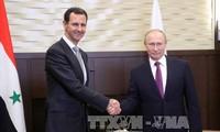 Russland verpflichtet sich, gemeinsam mit Syrien das syrische Land zu schützen und wiederaufzubauen