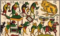 Unterlagen für die traditionellen Dong Ho-Bilder wird der UNESCO vorgelegt