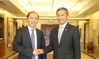 Die 12. politische Konsultation zwischen Vietnam und Singapur