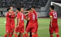 Fußballklub Hanoi kämpft gegen 4.25 SC-Klub Nordkoreas im Finale von AFC Cup