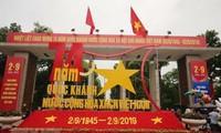 Glückwunschtelegramme zum vietnamesischen Nationalfeiertag