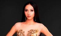 """Thu Hien tritt beim Schönheitswettbewerb """"Miss Asia Pacific International"""" für Vietnam an"""